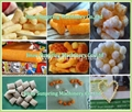 2015 Hot Sale Puffed Corn Snack Production Line