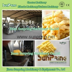 Fried Type Kurkure Snacks Machinery