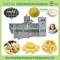 Machine to Make Corn Puffs Snacks