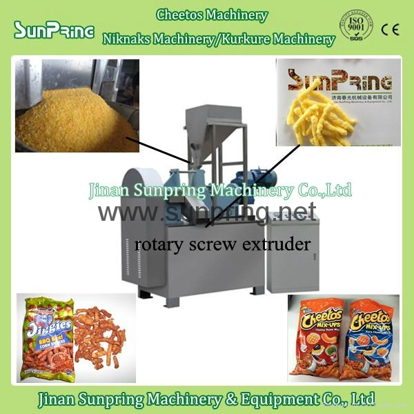 cheese curls machine