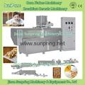 小產量玉米片生產線機械設備