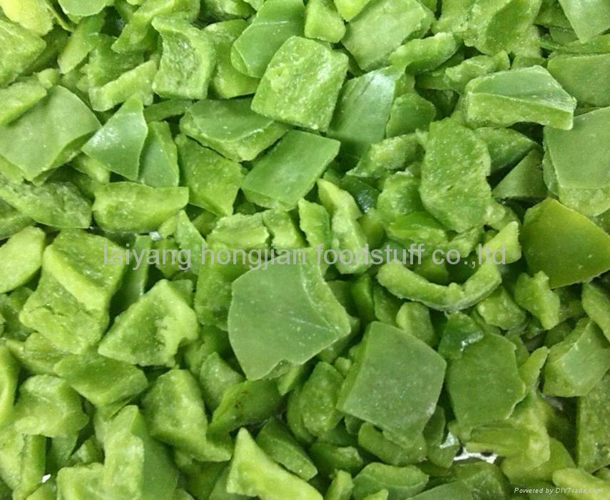 frozen green pepper diced  1