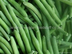 frozen  green bean cut