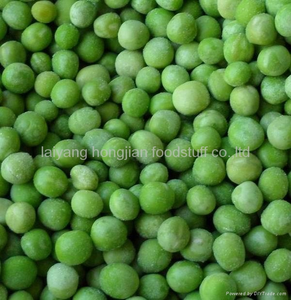 frozen  green pea 1
