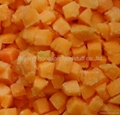 frozen  peach diced