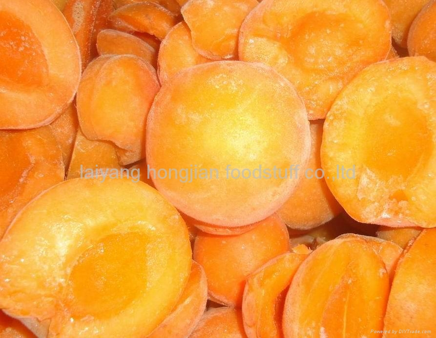 frozen fruits frozen  apricot halves 1