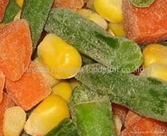 冷凍混合菜
