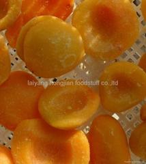 冷凍水果冷凍桃瓣