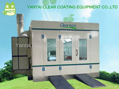 Clear factory made car spray booth baking oven with good quality