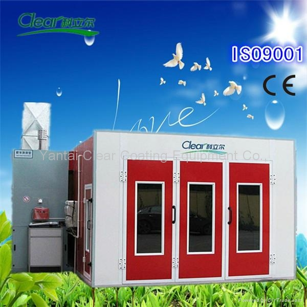 car spray paint booth baking oven-luxury model 1
