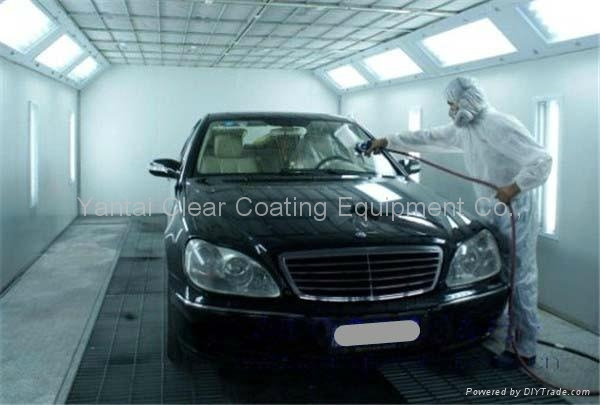 car spray paint booth baking oven-luxury model 3