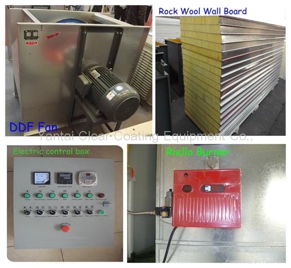 car spray paint booth baking oven-luxury model 5