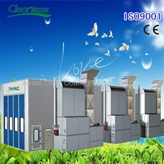 bus truck spray paint booth with factory price