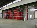 15m spray booth for bus and truck could