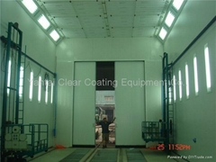 spray booth manufacturer bus paint booth supplier