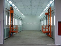 custom bus/truck paint booth (CE approved spray booth factory)