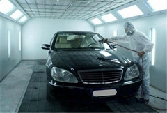 Car spray booth/baking booth-clear factroy