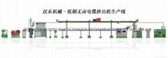 漢東電工機械HD-50低煙無鹵電纜擠出機