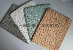 Cobble stone Design Coral Fleece Memory