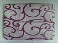 Carving Design Coral Fleece Memory Foam