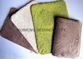 Solid Color Chenille Memory Foam Bath