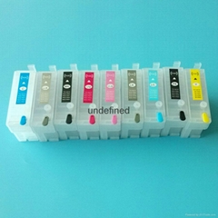 Refillable cartridge With ARC chip T7601-T7609 P600 For Epson Surecolor SC-P600
