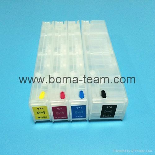 HP970 971 填充墨盒 HP officejet x451dn x451dw x551 x476 x576 打印机 1