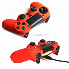 14 Color Soft Silicone Rubber Skin Case Cover for Sony PS4 Controller