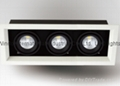Recessed 3*18W Three Heads HPL CITIZEN