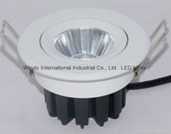 LED COB天花筒灯 可调光 7w 9w 12w
