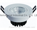 Led COB ceiling downlight,White house,7w