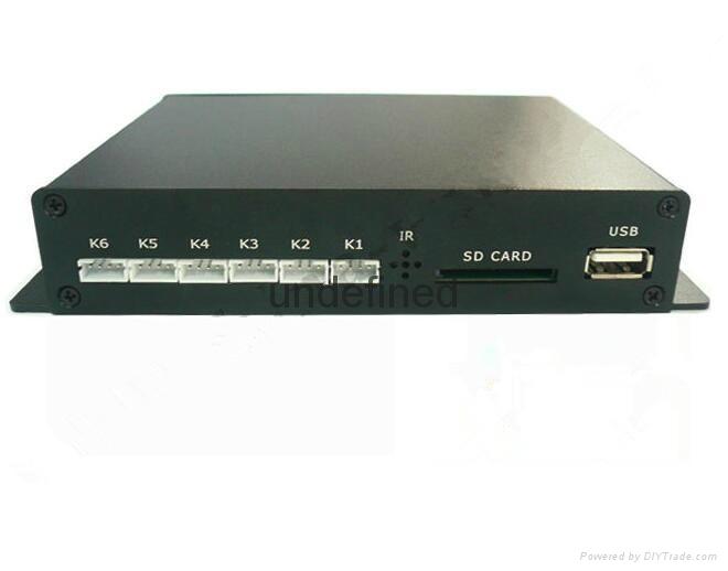 Metal housing1080P HDMI IN media player  1