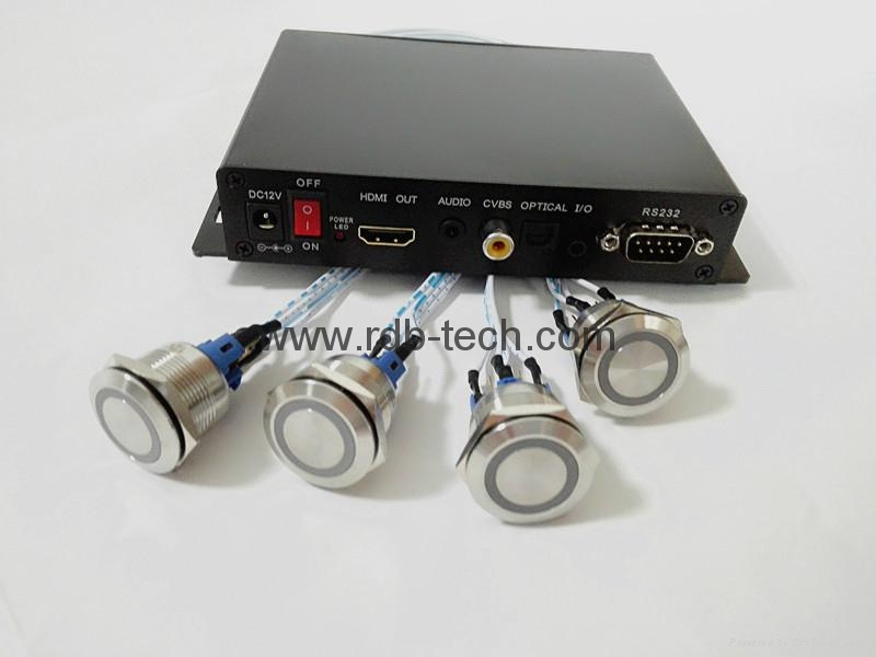 Audio players with pushbuttons 1