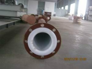 化工強腐蝕四氟管道 1