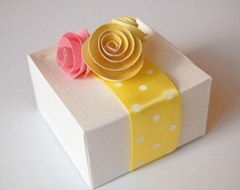 wholesale  custom printed recycled candy packaging paper valentine gift boxes