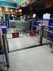 超市入口智能擺閘