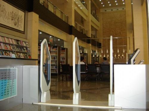 圖書館雙通道防盜儀 圖書磁條防盜儀 3