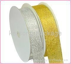 metalic ribbon