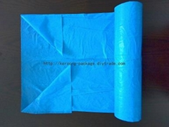 Garbage bag C-Fold recycle