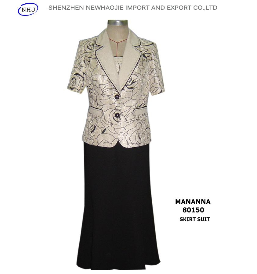 Ladies Skirt Suits for Wedding (80150) - MANANNA (China Trading ...