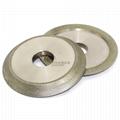 研磨鎢鋼銑刀用電鍍斜邊砂輪 1