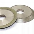 研磨鎢鋼銑刀用電鍍斜邊砂輪 126D*12T*32H*45V 4
