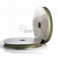 訂做V槽成型電鍍砂輪1EE1V-150D*25T*32H*9