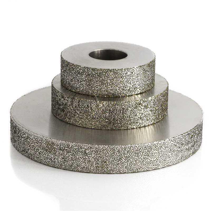 粗砂平行電鍍磨邊輪 1