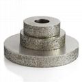 粗砂平行電鍍磨邊輪