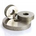 粗砂平行電鍍磨邊輪 3