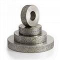 粗砂平行電鍍磨邊輪 4