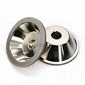 訂做11C9優質合金碗型砂輪 磨刀機鑽石砂輪 32孔 2