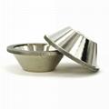 訂做11C9優質合金碗型砂輪 磨刀機鑽石砂輪 32孔 3