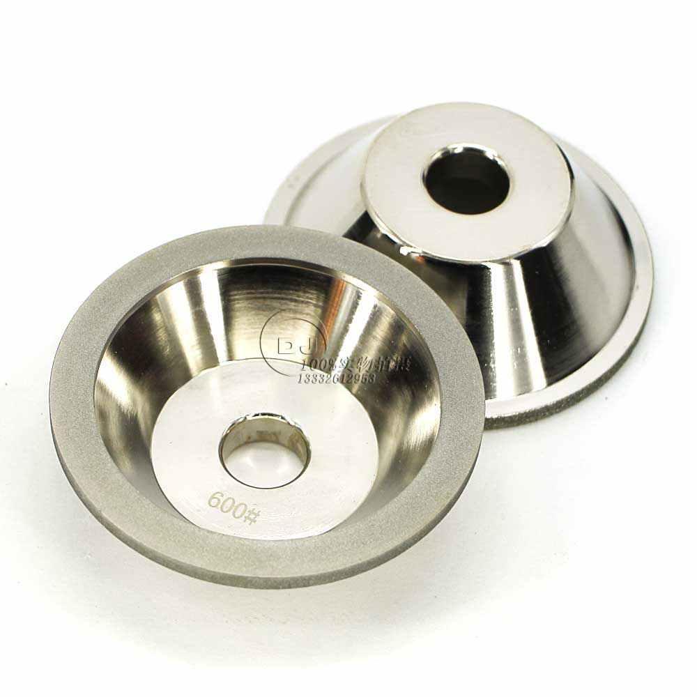訂做11C9優質合金碗型砂輪 磨刀機鑽石砂輪 32孔 4
